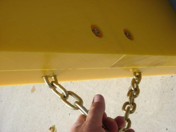 crane pad handle